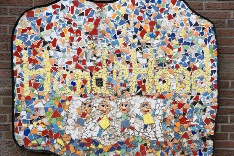 Mosaik Hand in Hand